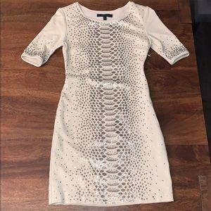 BCBG Max Azria sequin fitted dress